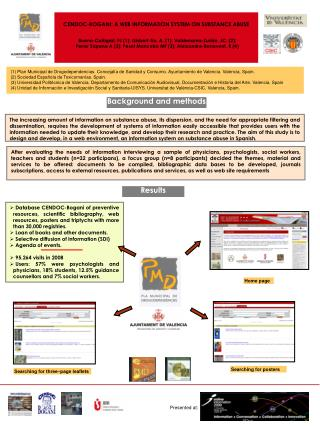 CENDOC-BOGANI: A WEB INFORMATION SYSTEM ON SUBSTANCE ABUSE