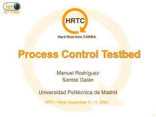Process Control Testbed