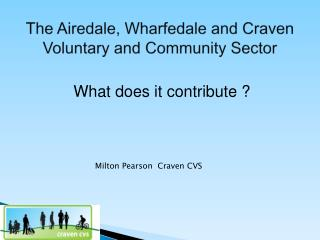 The Airedale, Wharfedale and Craven Voluntary and Community Sector