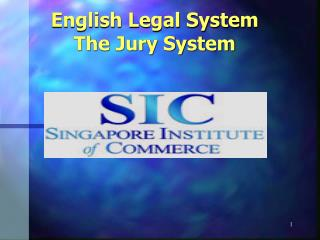 English Legal System The Jury System