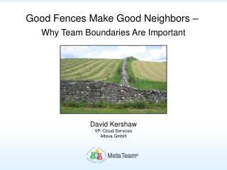 The Importance of Team Boundaries
