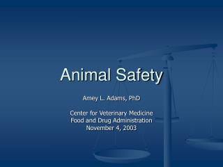 Animal Safety
