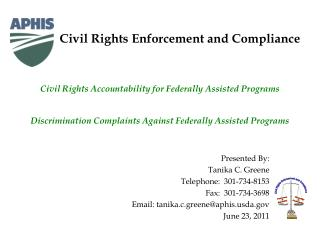 Civil Rights Enforcement and Compliance