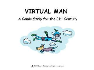 Virtual Man Comic Strips