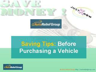 Save Money- Before you Buy a Car