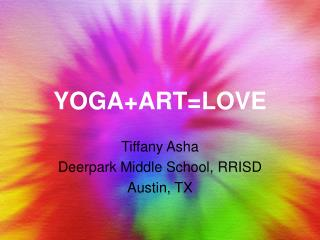 YOGA+ART=LOVE