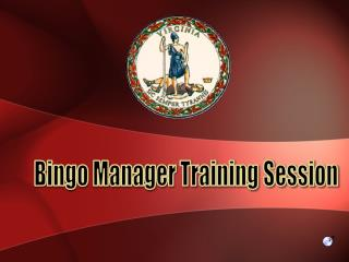 Bingo Manager Training Session