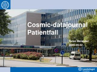 Cosmic-datajournal Patientfall