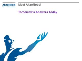Tomorrow's Answers Today