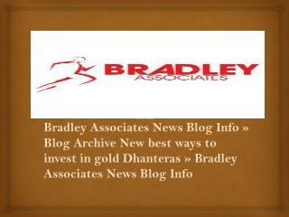 Bradley Associates News Blog Info »Blog Archive New best way