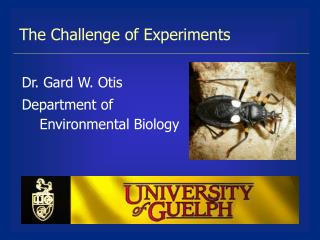 The Challenge of Experiments