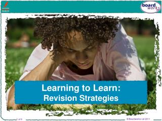 Learning to Learn:  Revision Strategies