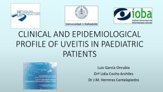 CLINICAL AND EPIDEMIOLOGICAL PROFILE OF UVEITIS IN PAEDIATRIC PATIENTS