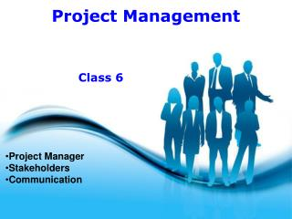 Project Manager Stakeholders Communication