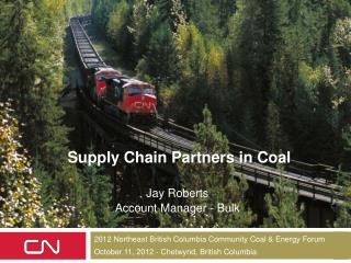 Supply Chain Partners in Coal