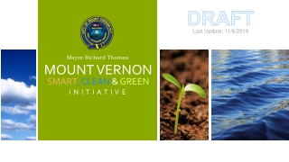 Federal Investments in Green Infrastructure An Industry Opportunity