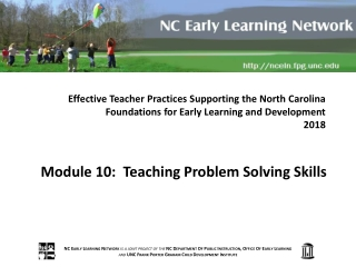 Growing as a Professional: Understanding the NC Professional Teaching Standards.