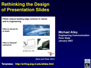 Rethinking the Design of Presentation Slides