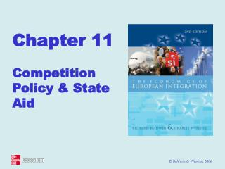 Chapter 11 Competition Policy & State Aid