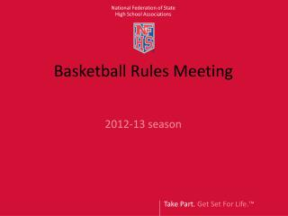 Basketball Rules Meeting