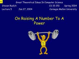 On Raising A Number To A Power