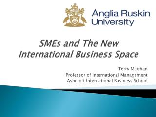 SMEs and The New International Business Space