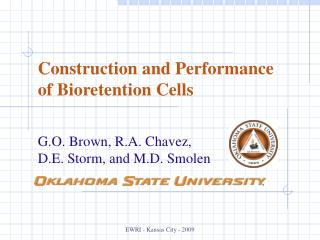 Construction and Performance of Bioretention Cells