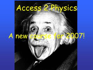 Access 2 Physics