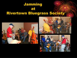 Jamming at Rivertown Bluegrass Society