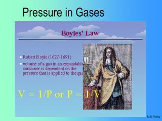 Pressure in Gases