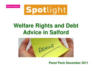 Welfare Rights and Debt Advice in Salford