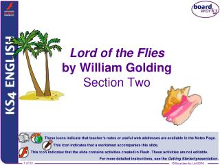Lord of the Flies by William Golding Section Two