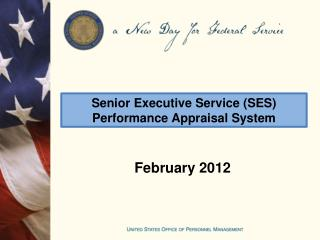 Senior Executive Service SES Performance Appraisal System