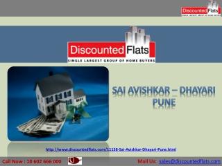 New Project by Suyog Group - Sai Avishkar Dhayari, Pune