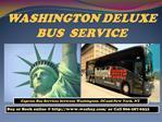 Washington Deluxe Bus Service