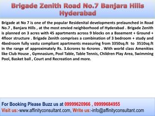 Banjara Hills Road No.7 Hyderabad New Property @09999684955