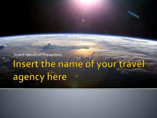 Insert the name of your travel agency here