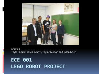 ECE 001 Lego Robot Project