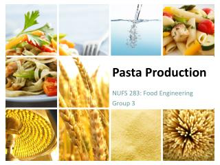 Pasta Production