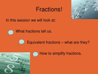 Fractions!