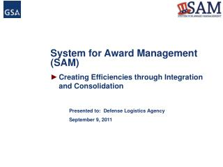 System for Award Management (SAM)