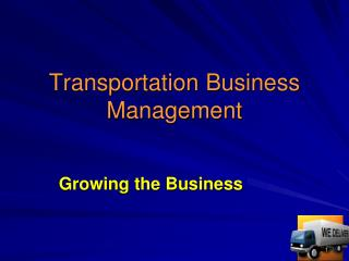 Transportation Business Management