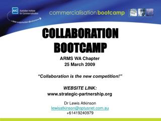 COLLABORATION  BOOTCAMP