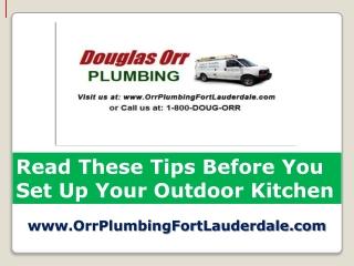 Licensed Plumber Fort Lauderdale Tips on Kitchen Remodeling
