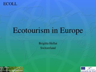 Ecotourism in Europe
