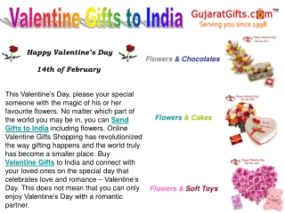 Online Gifts Shopping for Valentine Gifts to India