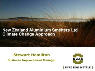New Zealand Aluminium Smelters Ltd Climate Change Approach