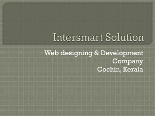 Web designing company in cochin