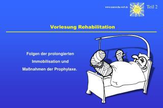 Vorlesung Rehabilitation