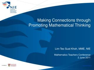 Making Connections through  Promoting Mathematical Thinking